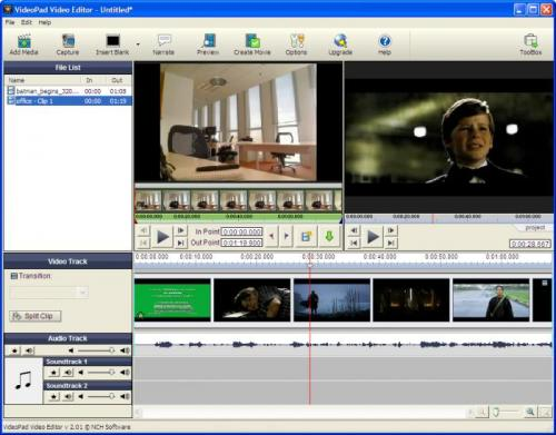VideoPad Video Editor 2.06 - Download 2.06
