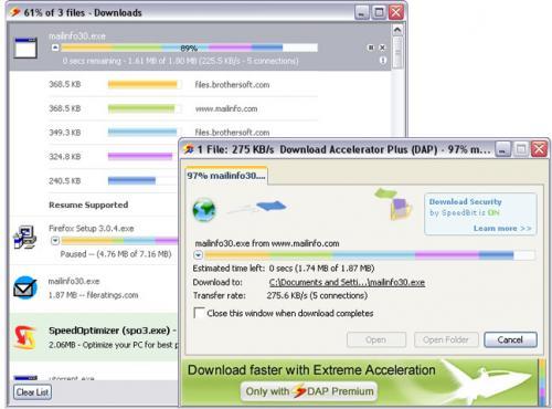 Download Accelerator Plus (DAP) 9.4.0.7 - Download 9.4.0.7