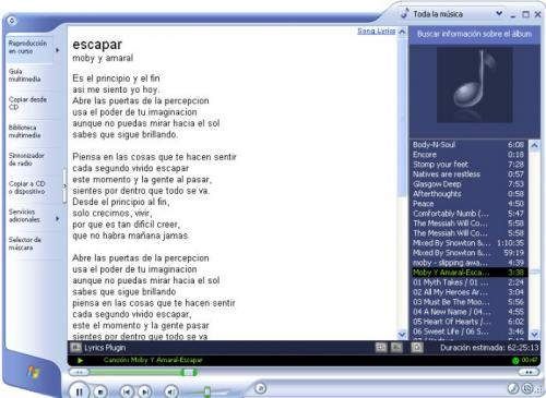 Lyrics Plugin for Windows Media Player - Download 0.3