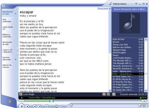 Lyrics Plugin for Windows Media Player - Download 0.3