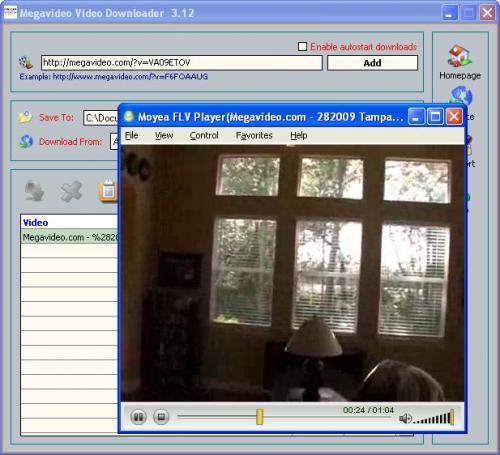 Megavideo Video Downloader 3.12