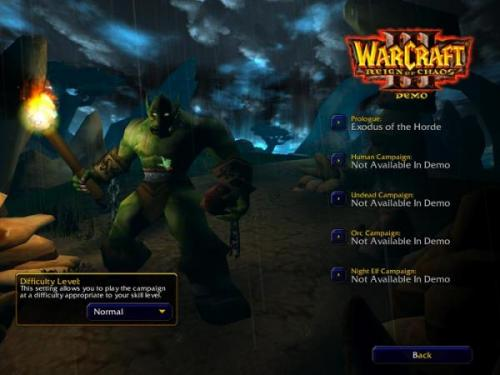 WarCraft III: Reign of Chaos Patch 1.24e - Download 1.24e