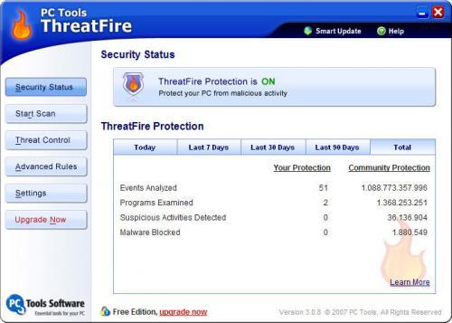 ThreatFire 4.1.0.25