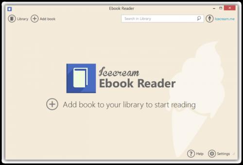 Icecream Ebook Reader 4.20