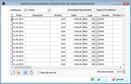 Presupuesto de tesoreria 1.0 - Download 1.0