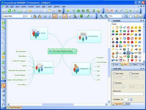 ConceptDraw Mindmap Professional 4.5