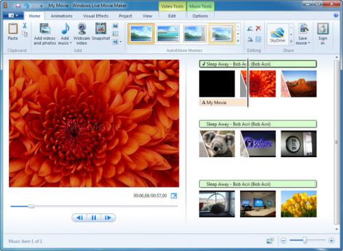 Windows Movie Maker 2.6 - Download 2.6