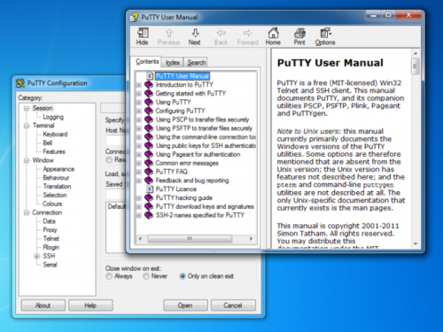 PuTTY Portable 0.60