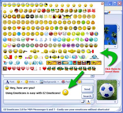 Windows Live Messenger Emoticos 1.0.0.1