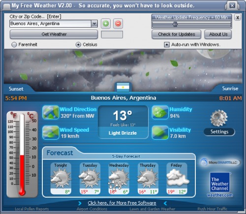 My Free Weather 2.00